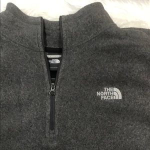 The North Face 1/4 zip sweater